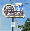 Image for Historic Route 66 - Luna Cafe - Mitchell, Illinois, USA.