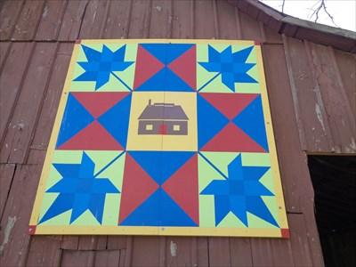 Maple Leaf - Barn Quilt - Funks Grove