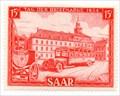 Image for Altes Rathaus - Stamp Day 1954 - Saarbrücken, Germany