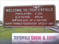 Image for Tenterfield, NSW, Australia; Elevation - 850m