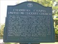 Image for Chambers Chapel United Methodist Church & Cemetery - Arlington, Tn