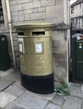 Image for Gold Post Box - Ed McKeever - Bradford-on-Avon, UK