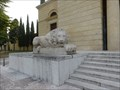 Image for Two lions at the Cimitero Monumentale - Verona, Italy