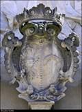 Image for Aliancní erb / Alliance CoA: Vilém Albrecht Krakowský z Kolowrat & Eva Ludmila hrabenka Hýzrlová z Chodu - Church of the Coronation of the Virgin Mary (Žatec, North-West Bohemia)