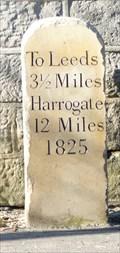 Image for Milestone - Harrogate Road, Leeds, Yorkshire, UK.