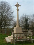Image for Combined WWI/WWII stone cross, St Chad - Webourn, Lincolnshire