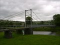 Image for Gower Road Suspension Bridge - Llanrwst, Conwy, North Wales, UK