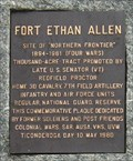 Image for Fort Ethan Allen - Colchester and Essex, Vermont