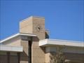 Image for San Leandro  Public Library clock - San Leandro, CA