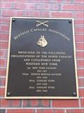 Image for Buffalo Cavalry Association Plaque - Buffalo, NY