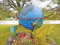 Image for 45th Parallel Earth Globe - Perry, ME