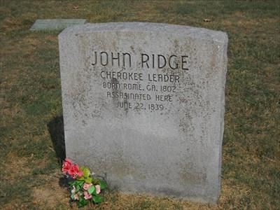 John Ridge - Polson Cemetery - Rural Delaware County, Ok