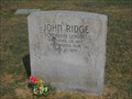 Image for John Ridge - Polson Cemetery - Rural Delaware County, Ok.