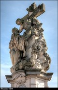 Image for Sculptural group of St. Lutgardis on Charles Bridge / Sousoší Sv. Luitgardy na Karlove moste (Prague)