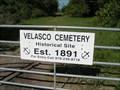 Image for Velasco Cemetery - Freeport, TX