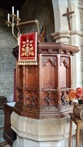 Image for Pulpit - St George - Lower Brailes, Warwickshire, UK