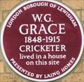 Image for W G Grace - Lawrie Park Road, London, UK