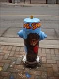 Image for Yeti VS Snowman Hydrant - Oshawa, Ontario, Canada