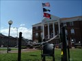 Image for The Unoccupied Seat ~ You Are Not Forgotton ~ Courthouse square in Elizabethon, Tennessee.