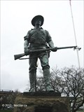"Image for ""The Hiker"" Monument - Taunton, MA"