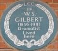 Image for Sir W S Gilbert - Harrington Gardens, London, UK
