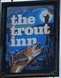 Image for The Trout Inn - Pub Sign - Beulah, Llanwrtyd Wells, Wales.
