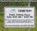 Image for Canmore Cemetery - Veterans' Section -  Canmore, Alberta