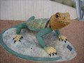 Image for Collared Lizard - Patience S. Latting Library - OKC, OK