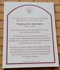 Image for Physik: Prof. Dr. Otto Stern 1943 - Hamburg, Deutschland