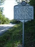 Image for Keyes Gap