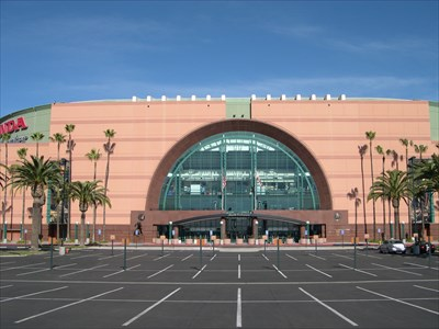 Honda Center   Anaheim, CA   Professional Sports Venues On Waymarking.com