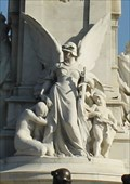 Image for Angel of Justice -- Victoria Memorial, Buckingham Palace, Westminster, London, UK