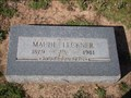 Image for 102 - Maude Leckner - Fairlawn Cemetery - OKC, OK