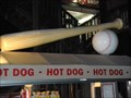 Image for Ball and Bat on the Ball Park Hot Dog Stand - Pier 39, San Francisco, CA