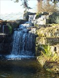 Image for Kew Rock Garden Waterfall - Kew Gardens, London, UK