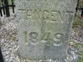 Image for USCTE TANGENT Stone, 1849, Delaware-Maryland