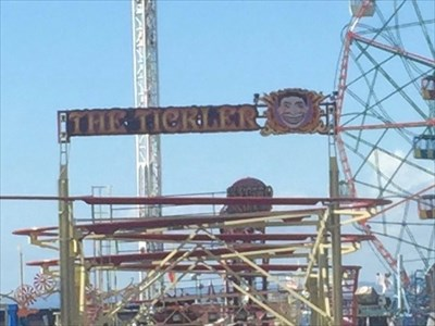 The Tickler (Digitally Zoomed), Coney Island, Brooklyn, New York