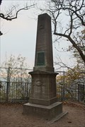 Image for Obelisk am Drachenfels (Kopie des Originals von 1814) - Drachenfels, Siebengebirge, Germany