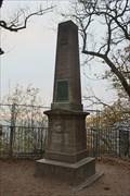 Image for Obelisk am Drachenfels (Kopie des Originals von 1814) - Drachenfels, Siebengebirge, Germany
