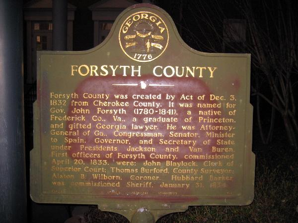 Forsyth county court dates
