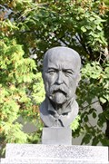 Image for A bust of T.G. Masaryk in Prague - Kunratice, CZ