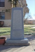 Image for Moore County Disaster Memorial -- Dumas TX