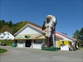 Image for Big Indian Shop and Statue - Charlemont, MA