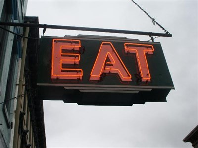 Eat Neon 2, Maysville, KY - Neon Signs on Waymarking com