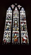Image for Stained Glass Windows - St George - St Cross South Elmham, Suffolk