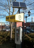 Image for Solar Powered Parking Lot Station - Plymouth, MA