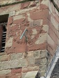Image for Sundial on Tower of Castle Church, Stafford, Staffordshire, UK.