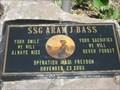 Image for SSgt. Aram J. Bass Memorial, Niagara Falls, NY.