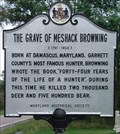 Image for The Grave of Meshack Browning