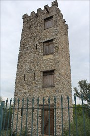 Comanche Lookout Park -- San Antonio TX - Look-Out Towers on